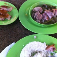 Photo taken at Hecky's Lechon by It'smeBaron R. on 4/26/2012