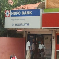 Photo taken at HDFC Bank ATM by Kumar V. on 10/24/2011