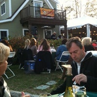 Photo taken at Baiting Hollow Farm Vineyard by Beverly F. on 10/23/2011