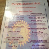 Photo taken at Purple Parrot Grill by Tara C. on 3/31/2012