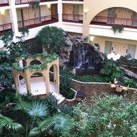 Photo taken at Embassy Suites by Hilton Detroit Livonia Novi by Karen D. on 2/1/2012