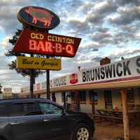 Photo taken at Old Clinton Bar-B-Q by stanley l. on 3/8/2012