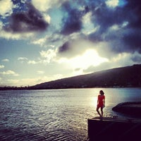 Photo taken at Maunalua Bay Boat Ramp by Ed W. on 5/5/2012