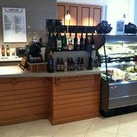 Photo taken at Basile Cafe by David A. on 10/7/2011