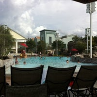 Photo taken at Congress Park Pool by Chris D. on 8/8/2011