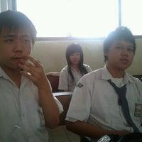 Photo taken at Sekolah Santo Paulus Jakarta by Hendry D. on 2/15/2012