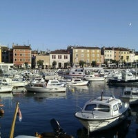 Photo taken at Rovinj Harbor by Ulrik ⚓. on 10/15/2011