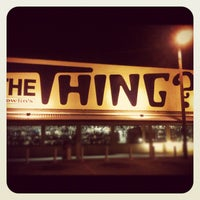 Photo taken at The Thing? by Chris S. on 8/23/2012
