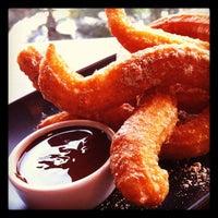 Photo taken at Chu Chocolate Bar & Café by Pom-Pomme on 10/23/2011