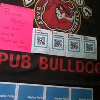 Photo taken at The Bulldog Pub by Cafe A. on 4/16/2012