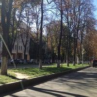 Photo taken at Памятник Мануильскому Дмитрию Захаровичу by Лева Л. on 9/11/2012