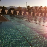 Photo taken at Palm Desert Aquatic Center by David G. on 12/26/2011