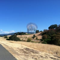 Photo taken at Stanford Dish Trail by Kelvin on 6/23/2012