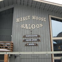 Photo taken at Mangy Moose Restaurant and Saloon by Patrick H. on 3/12/2012