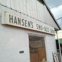 Photo taken at Hansen's Sno-Bliz by Kelly M. on 6/28/2012
