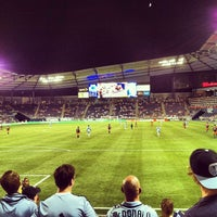 Photo taken at Boulevard Members Club at Sporting Park by Bryan S. on 7/25/2012