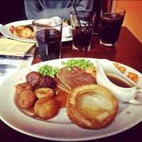 Photo taken at The Half Moon (Wetherspoon) by Katherine D. on 1/27/2012