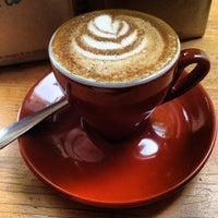 Photo taken at Blue Bottle Coffee by Guf G. on 4/25/2012