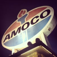 Photo taken at World's Largest Amoco Sign by Kelsey on 5/23/2012