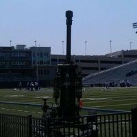 Photo taken at Foreman Field at S.B. Ballard Stadium by Ben W. on 9/3/2011