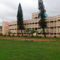 Photo taken at Sri Sathya Sai Institute of Higher Learning by Aditya D. on 8/12/2012