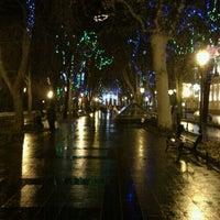 Снимок сделан в Приморский бульвар пользователем Maria B. 12/17/2011