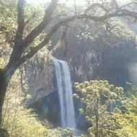 Photo taken at Escada da Perna Bamba by Ricardo H. on 7/25/2012