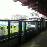 Photo taken at Lakeside MRT Station (EW26) by Jen P. on 6/5/2011