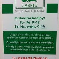 Photo taken at Veterinární klinika Gabrid by Tomáš 🐦 V. on 1/11/2012