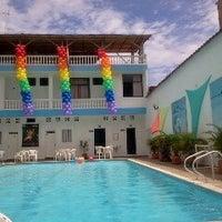 Photo taken at Piscina Hotel Joohn by Dago G. on 8/18/2012