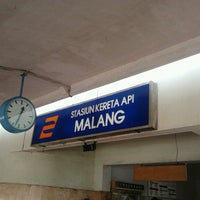 Photo taken at Stasiun Malang by Sonny T. on 6/30/2012