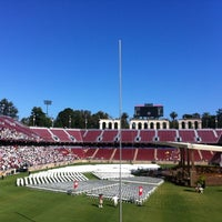 Photo taken at Stanford Stadium by Maxo B. on 6/17/2012