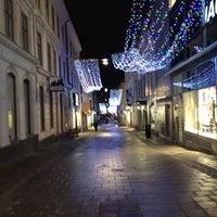 Photo taken at Gamla Brogatan by Johan C. on 12/16/2011