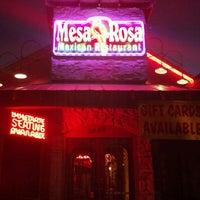 Photo taken at Mesa Rosa by Michael C. on 1/27/2012