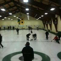 Photo taken at Burlington Curling Club by Frances P. on 11/27/2011