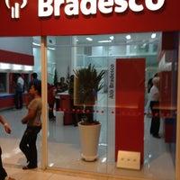 Photo taken at Bradesco by Ricardo V. on 1/5/2012