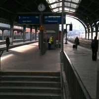 Photo taken at Hagen Hauptbahnhof by Jana E. on 1/18/2012