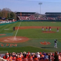 Photo taken at Doug Kingsmore Stadium by Jon M. on 3/12/2011