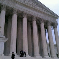 Photo taken at Supreme Court of the United States by Brandon R. on 4/26/2012