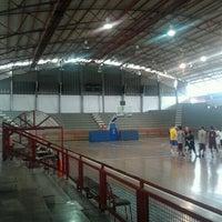 Photo taken at Gimnasio Cubierto Napoleón Rodríguez by Freddy B. on 8/8/2012