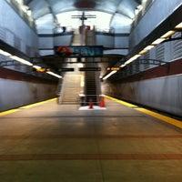 Photo taken at South San Francisco BART Station by Jeri E. on 5/28/2012