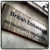 Photo taken at The British Embassy by Camera S. on 6/6/2012