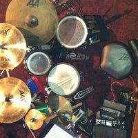 Photo taken at Eric Wagner's Drum Studio by Eric W. on 2/16/2012