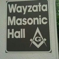 Photo taken at Wayzata Masonic Lodge #205 by Timothy J. on 11/19/2011