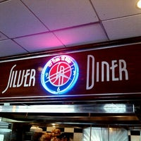 Photo taken at Silver Diner by David W. on 9/9/2012