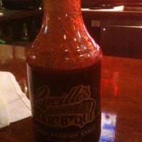 Photo taken at Lucille's Smokehouse Bar-B-Que by Cameron S. on 1/6/2011