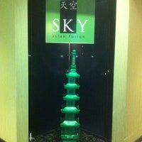 Photo taken at Sky Fine Dining by Kenny B. on 2/16/2011