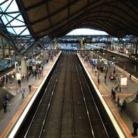 Photo taken at Southern Cross Station by Defkalion on 8/26/2012