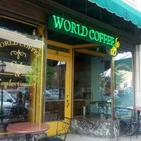 Photo taken at World Coffee by Jon L. on 9/2/2012