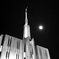 Photo taken at Seattle Washington Temple by Spencer T. on 3/7/2012